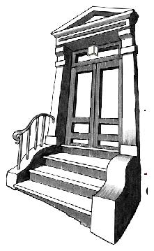 logo door